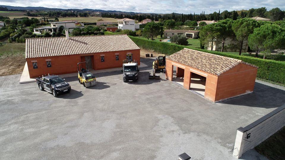 Fondations et terrassement d'une maison à Carcassonne dans l'aude 11000   SP Construction Carcassonne