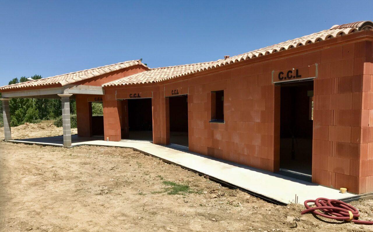 Construction d'une maison à Pezens dans l'aude 11000 | SP Construction Carcassonne