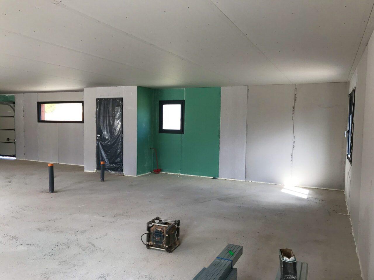 Isolation Placoplatre d'une maison à Villesèquelande dans l'aude 11000 | SP Construction Carcassonne