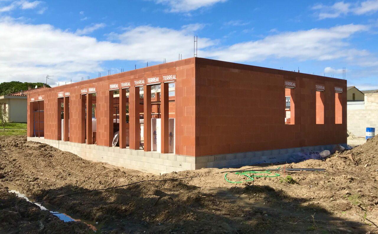 Construction d'une maison individuelle à Villesèquelande dans l'Aude   Sp Construction Carcassonne