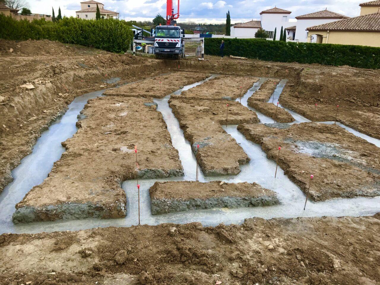 Construction d'une Maison individuelle à Pezens dans l'Aude   Sp Construction Carcassonne