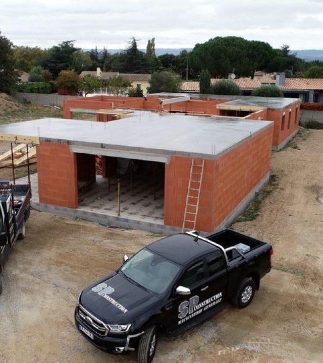 Construction d'une maison individuelle à Carcassonne dans l'Aude   Sp Construction Carcassonne