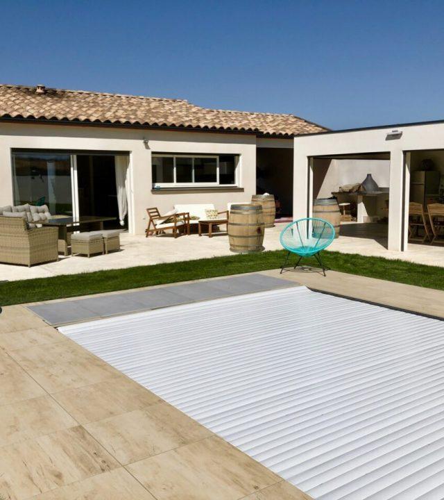 Construction de maison individuelle avec piscine et Pool House à Villesèquelande dans l'aude 11000 | SP Construction Carcassonne